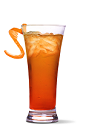 The Peach on the Beach is a peachy variation of the classic Sex on the Beach drink. A peach colored cocktail recipe made from UV Peach vodka, orange juice and cranberry juice, and served over ice in a highball glass.