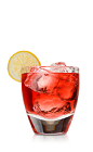 Citrus rums are an exciting new way to enjoy the classic flavors of rum, often made with natural lime flavors, such as Don Q uses in their Limon rum. The Q Berry is a red colored drink recipe made from Don Q Limon rum, cranberry juice and lemon, and served over ice in a rocks glass.