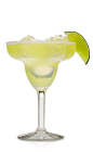 Tequila has a very distinct flavor due to the agave plant, and is an acquired taste that not everyone has the time to get used to. If tequila is a bit too strong for you, rum is a good substitute in most tequila-based drinks. The Rum Margarita is made from Don Q white rum, lime juice and triple sec, and served over ice in a margarita glass.