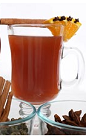Warmed spiced rum is a traditional winter drink in North America. The Spiced Rum Toddy drink recipe is made form Flor de Cana rum, vanilla, nutmeg, cinnamon, butter and boiling water, and served in an Irish coffee glass or coffee mug.