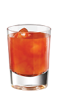 The Tuaca Whiskey Punch is an orange drink made from Tuaca vanilla citrus liqueur, Jack Daniel's Tennessee Whiskey, orange juice and cranberry juice, and served over ice in a rocks glass.