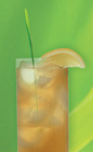 The Zu Iced Tea drink recipe is made from Zubrowka Bison Brass vodka, white rum, gin, tequila, triple sec, sour mix and cola, and served over ice in a Collins glass.