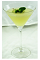 The Cucumber Elegant is a classy cocktail made from Effen cucumber vodka, lime juice, simple syrup and mint, and served in a chilled cocktail glass.