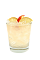 The Kentucky Peach is a yellow drink made form Smirnoff peach vodka, Kentucky straight bourbon whiskey, lemonade and simple syrup, and served over ice in a rocks glass.