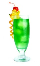Green Colored Drinks
